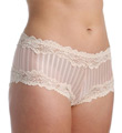 Barbados Mesh Boyshort Panty With Lace Trim Image
