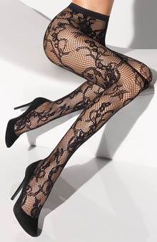 Wolford Victorienne Tights 19135
