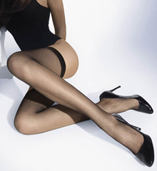 Wolford Twenties Fishnet Stay Ups 21569