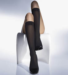Wolford Velvet De Luxe 50 Knee Highs 30923