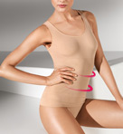 Wolford Opaque Naturel Forming Top 51180