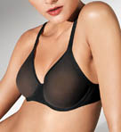 Tulle Molded Underwire Bra Image