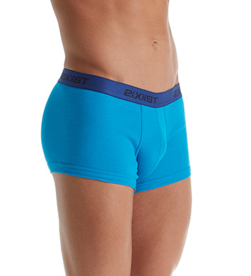 2xist Essentials No Show Trunks - 3 Pack