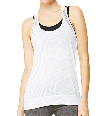 Alo Sunset Mesh Detail Tank Top