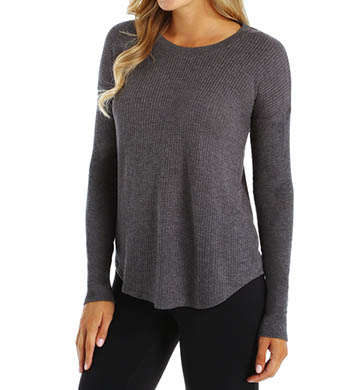 Alo Extreme Curved Long Sleeve Top