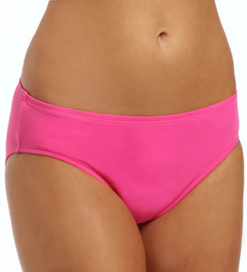 Anne Cole Color Blast Frank Mid Rise Swim Bottom