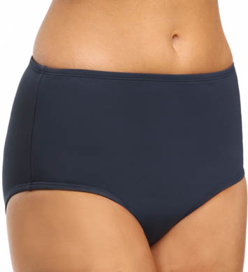 Anne Cole Color Blast Tummy Control Hi Waist Swim Bottom