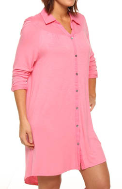 Anne Klein Poised & Poetic Long Sleeve Sleepshirt