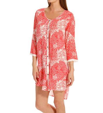 Anne Klein Coral 3/4 Sleeve Sleepshirt