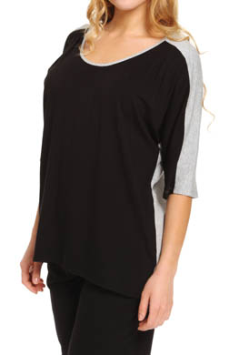 Anne Klein Basic Short Sleeve Top