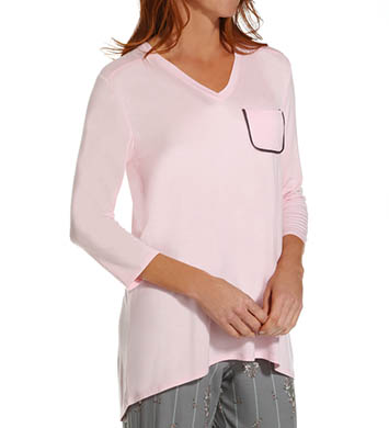 Anne Klein Novelty 3/4 Sleeve Top