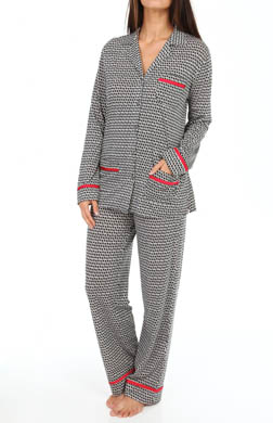 Anne Klein Merry & Bright Long Sleeve Long PJ