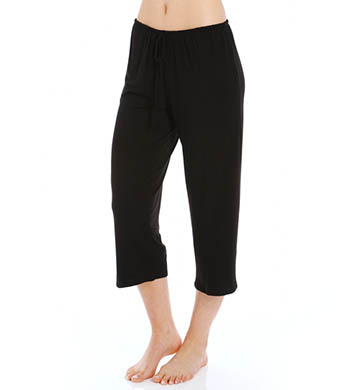 Anne Klein Black & White Cropped Pant