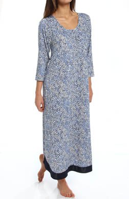 Anne Klein Animal Long Gown