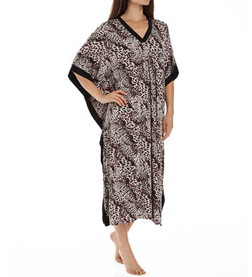 Anne Klein Animal Long Caftan
