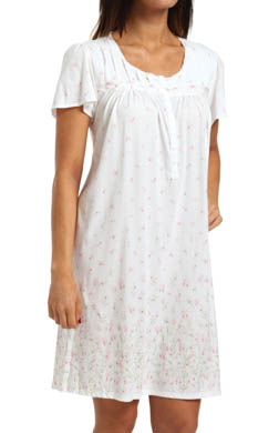 Aria Sweet Temptations Cap Sleeve Short Nightgown