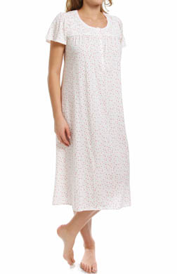 Aria Vintage Romance Short Sleeve Ballet Nightgown