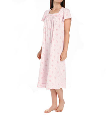 Aria Printed Soft Jersey Ballet Cap Sleeve Nightgown
