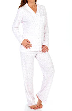 Aria Lavender Potpourri Long Sleeve PJ Set