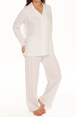 Aria Ivory Ditsy Long Sleeve Long PJ Set