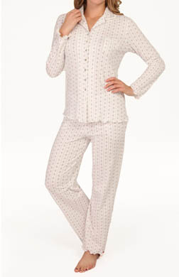 Aria Dreaming Of Sugar Plums Long Sleeve Long PJ Set