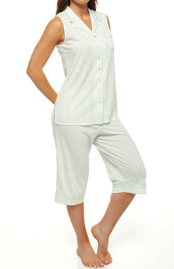 Aria Lavender in June Sleeveless Clam Digger PJ Set