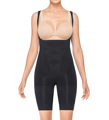 Assets by Sara Blakely Remarkable Results Open Bust Midthigh Bodysuit