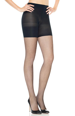 Assets Red Hot by Spanx Open Weave Shaping Fishnet Tight