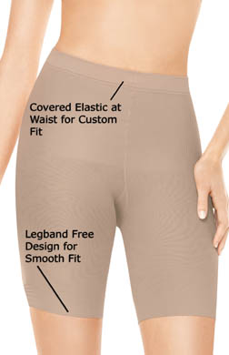 Assets Red Hot by Spanx Mid-Thigh Super Control Shaper