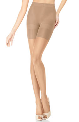 Assets Red Hot by Spanx Sheer Shaping Pantyhose Super Control Tights