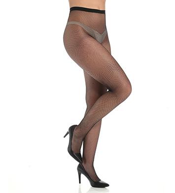 Berkshire Plus Size Fishnet Pantyhose