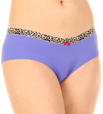 Betsey Johnson Intimates Microfiber Everyday Girl Leg Panty
