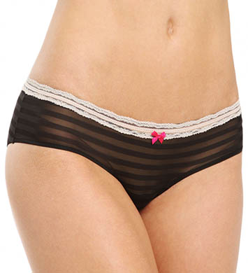 Betsey Johnson Intimates Stripe Hype Hipster Panty