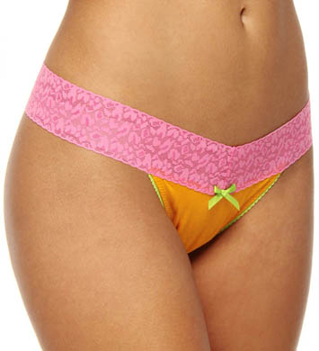 Betsey Johnson Intimates Cotton Modal Thong
