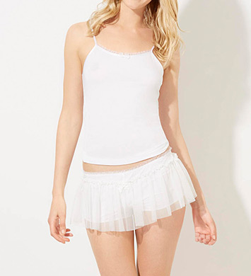 Betsey Johnson Intimates Bridal Blue Ballerina Short Set