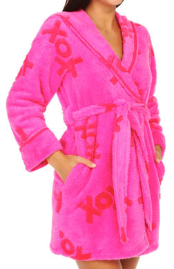 Betsey Johnson Intimates Luxe Fleece Robe