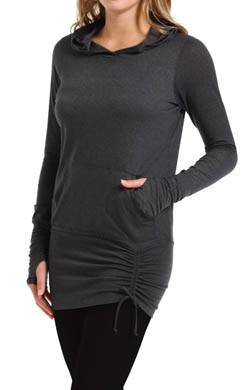 Beyond Yoga Ethereal Pullover Ruched Hoodie