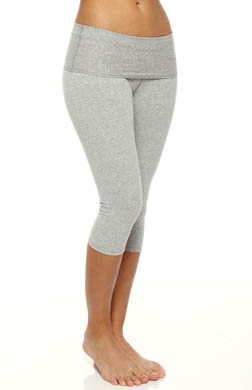 Beyond Yoga Eco Performance Fold Over Capri Legging