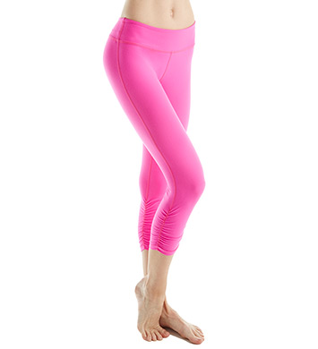 Beyond Yoga Supplex Essential Gathered Capri Legging