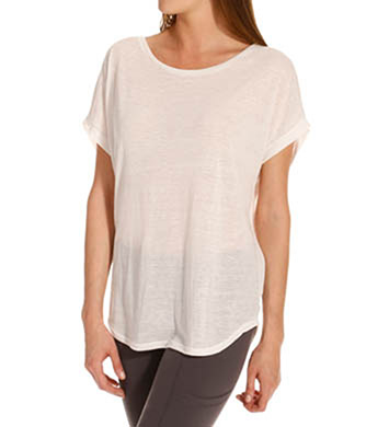 Beyond Yoga Streaky Knit Slouchy Top