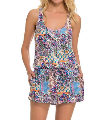 Blush Swimwear Avante Garden Jersey Romper