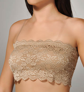 Braza Chantilly Lace Bandeau Bralette