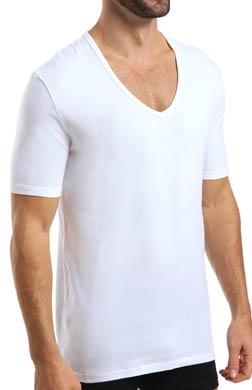 C-in2 Baseflex High V-Neck T-Shirt - 2 Pack