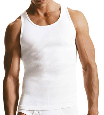 Calvin Klein Ribbed Tank Top - 3 Pack