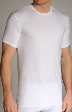 Calvin Klein Cotton Stretch Crewneck T-Shirts - 2 Pack