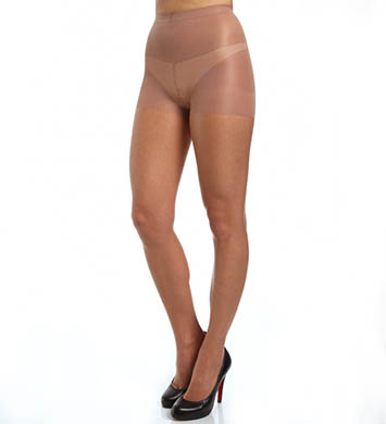 Calvin Klein Hosiery Infinite Sheer Open Toe with Control Top