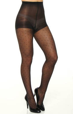 Calvin Klein Hosiery Circle Geo Tights With Control Top