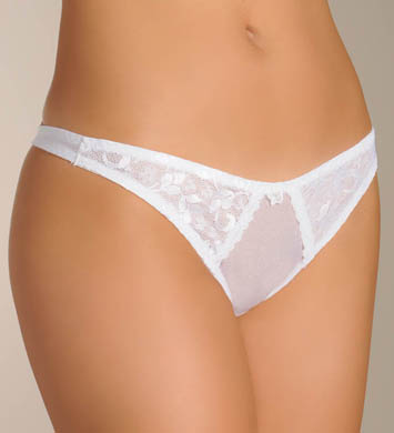 Carnival Satin Lace Thong