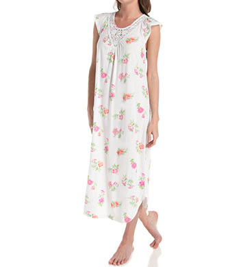 Carole Hochman Botanical Ditsy Long Gown