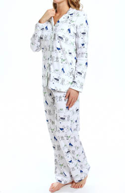 Carole Hochman Furry Friends Pajama Set